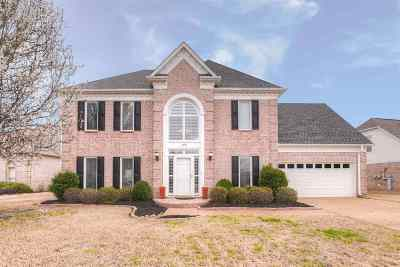 Collierville Single Family Home Contingent: 1354 Hunters Mill