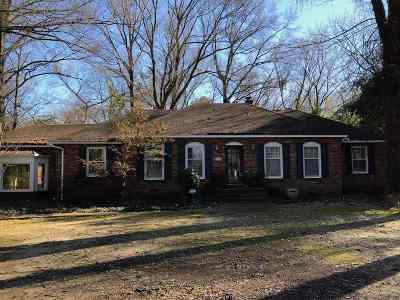Memphis Single Family Home For Sale: 5155 Shady Grove