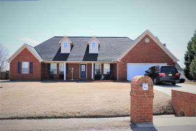 Atoka Single Family Home For Sale: 47 Mossy Oak