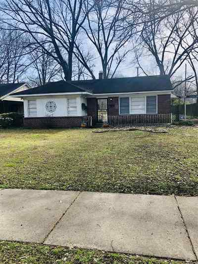 Memphis Single Family Home For Sale: 4555 Verne