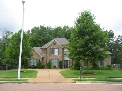 Collierville Rental For Rent: 10425 Cloudy Cape