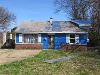 Memphis Single Family Home For Sale: 258 Dixie