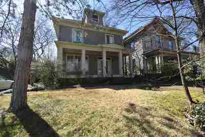 Memphis Single Family Home For Sale: 1357 Carr