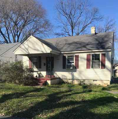 Memphis Single Family Home For Sale: 3152 N Lafayette