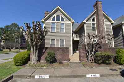 Memphis Condo/Townhouse For Sale: 2220 Brewers Landing #1