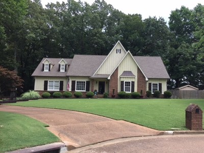 Collierville Single Family Home For Sale: 1140 Tall Oaks