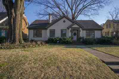 Memphis Single Family Home For Sale: 2455 Monroe