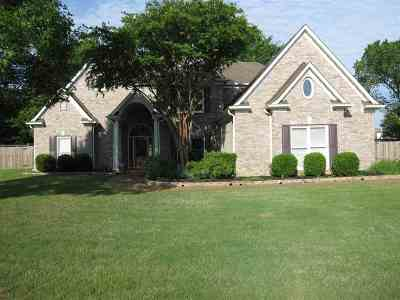 Collierville Single Family Home For Sale: 1161 Sunriver