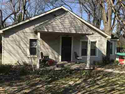 Memphis TN Single Family Home For Sale: $22,000