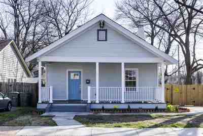 Memphis Single Family Home For Sale: 1076 New York