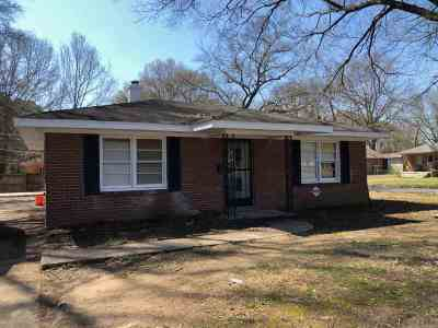 Memphis TN Single Family Home For Sale: $69,900