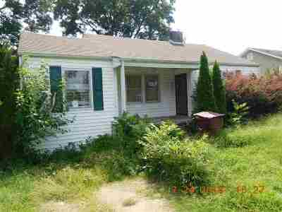 Sheffield AL Single Family Home For Sale: $14,900