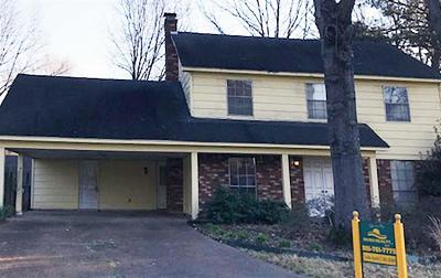 Memphis Single Family Home For Sale: 3826 Cosgrave