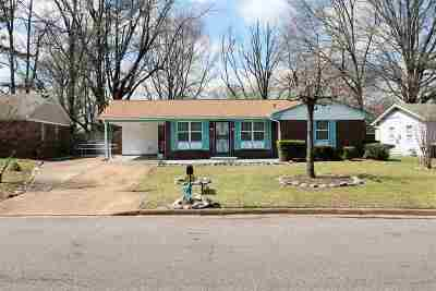 Memphis Single Family Home Contingent: 5429 Whitworth