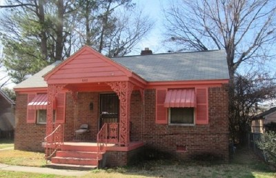 Memphis Single Family Home For Sale: 907 Maxey