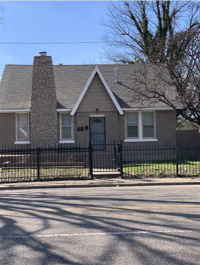 Memphis Single Family Home For Sale: 929 N Watkins