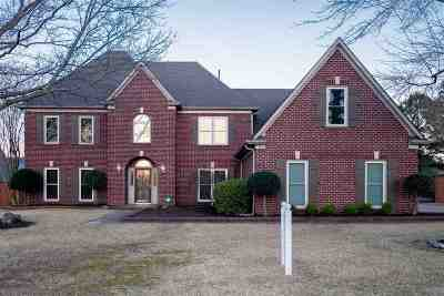 Collierville Single Family Home For Sale: 1582 Courtfield