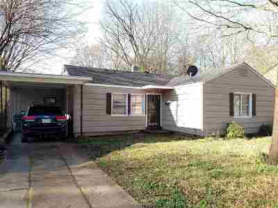 Memphis Single Family Home For Sale: 4101 Meadow