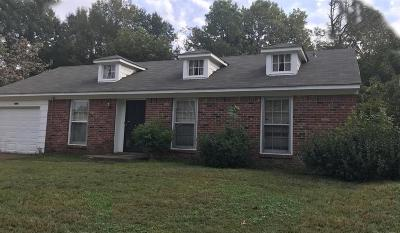Memphis Single Family Home For Sale: 3324 Stella