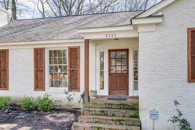 Memphis Single Family Home For Sale: 5151 S Charlotte