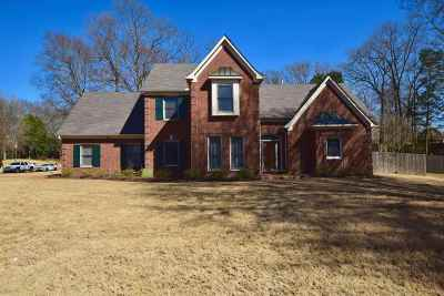 Memphis Single Family Home For Sale: 1504 Cedar Mills