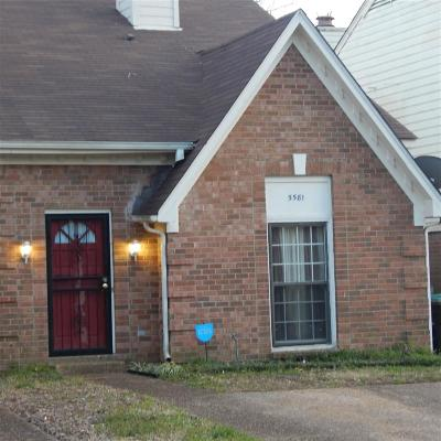 Memphis Condo/Townhouse For Sale: 5581 Tulip Tree