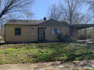 Memphis Single Family Home For Sale: 3584 Sunrise