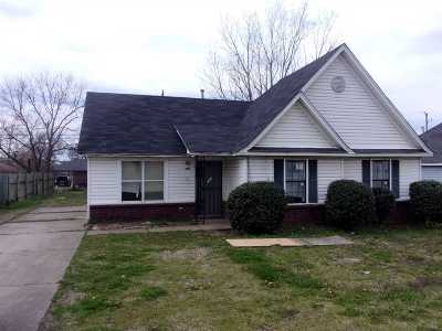 Memphis Single Family Home For Sale: 1327 Florida