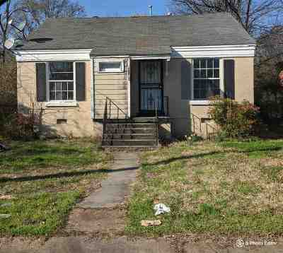 Memphis Single Family Home For Sale: 3160 Coleman