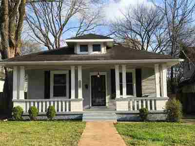 Memphis Single Family Home For Sale: 2048 Central