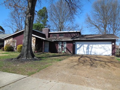 Memphis Single Family Home For Sale: 6926 Glenwick