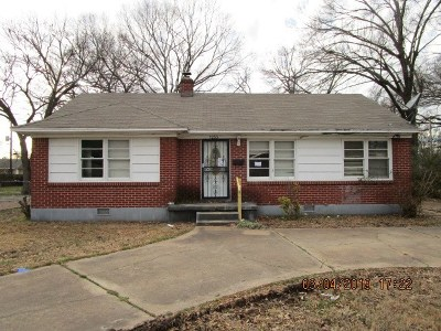 Memphis Single Family Home For Sale: 1233 Russwood