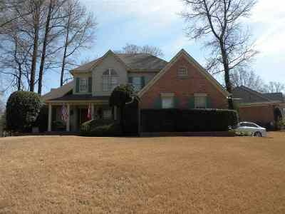 Memphis Single Family Home For Sale: 8662 Magnolia Bloom