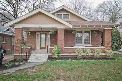 Memphis TN Single Family Home For Sale: $299,000
