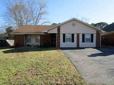 Memphis TN Single Family Home For Sale: $134,900