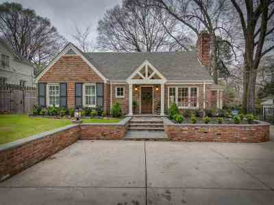 Memphis Single Family Home Contingent: 3520 Lily