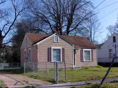 Memphis Single Family Home For Sale: 3084 Pershing