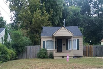 East Memphis Park Single Family Home For Sale: 1690 Echles