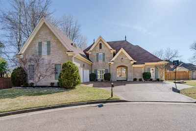 Memphis Single Family Home Contingent: 334 Chase Farm