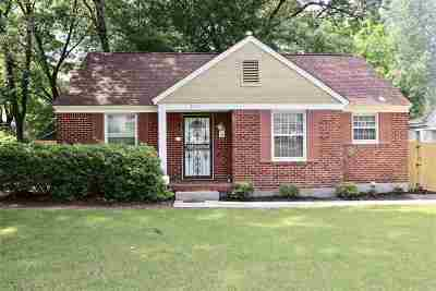 Memphis Single Family Home For Sale: 3541 Johnwood