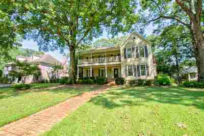 Memphis Single Family Home For Sale: 6314 River View