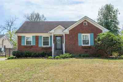 Memphis Single Family Home Contingent: 3787 Mimosa