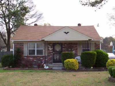 East Memphis Park Single Family Home For Sale: 1844 Watson