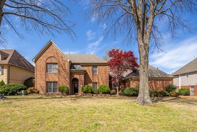 Collierville Single Family Home Contingent: 1115 Stanton Hall