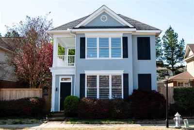 Collierville Single Family Home Contingent: 1795 Yancey