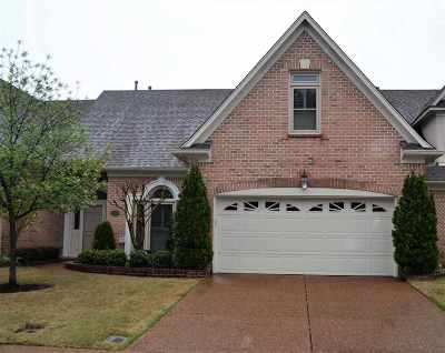 Collierville Condo/Townhouse Contingent: 1734 Gosnold Bluff
