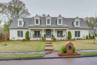 Collierville Single Family Home Contingent: 10470 Shea Woods