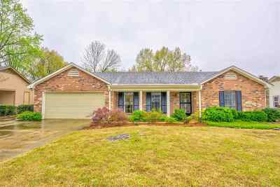 Collierville Single Family Home Contingent: 403 Laura Ann