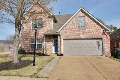 Collierville Single Family Home Contingent: 4638 Jasper Park