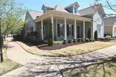 Collierville Single Family Home Contingent: 140 Hardwick